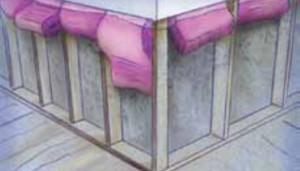 Repairing water-damaged walls