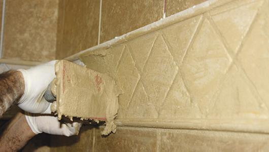 C mo instalar baldosas y azulejos paso a paso constru - Lechada azulejos ...
