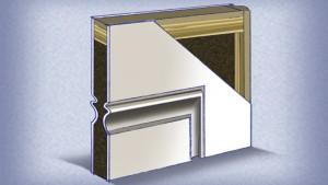 Entre las mejores puertas exteriores para casas están las puertas de fibra de vidrio