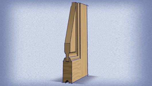 Elegir las mejores puertas exteriores para casas constru for Puertas interiores de madera con vidrio