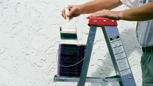 Para secado apropriado, trate de pintar en la sombra.