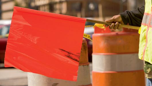 Prevenir los riesgos del tránsito de maqinaria de construcción