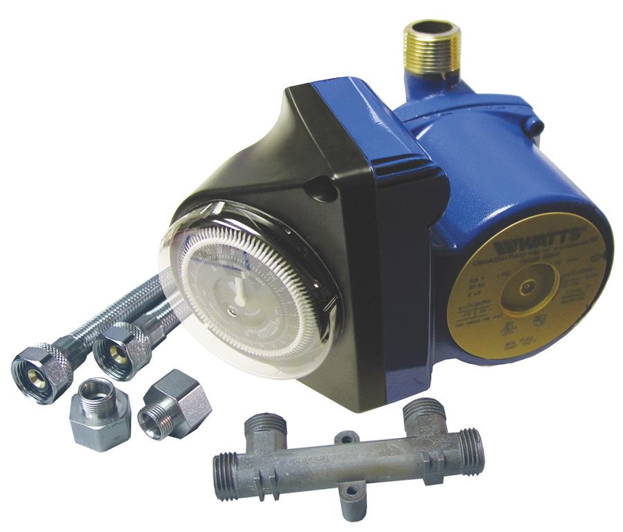 Extractor De Baño Potente:Sistema de Recirculación Inmediata de Agua Caliente de Watts para