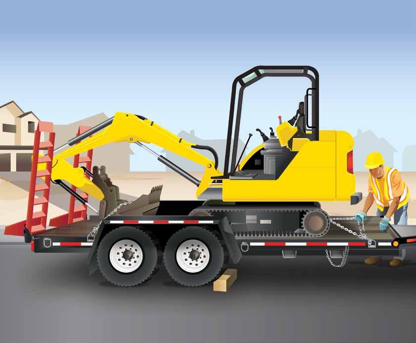 Mantenga la seguridad al cargar y descargar camiones