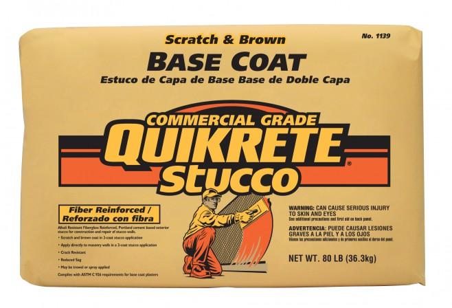 herramientas que le resolverán problemas - QUIKRETE Base Coat Stucco