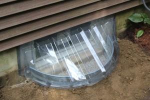 instalar pozos de ventanas en los cimientos 4