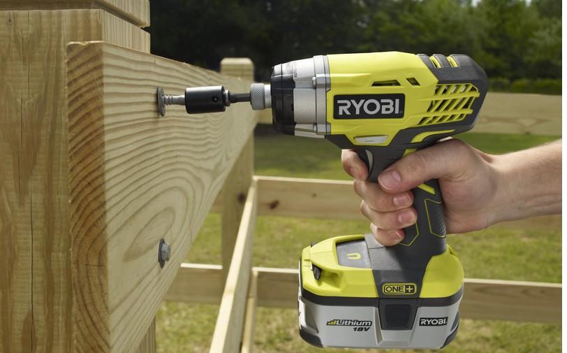 Ryobi atornillador de impacto