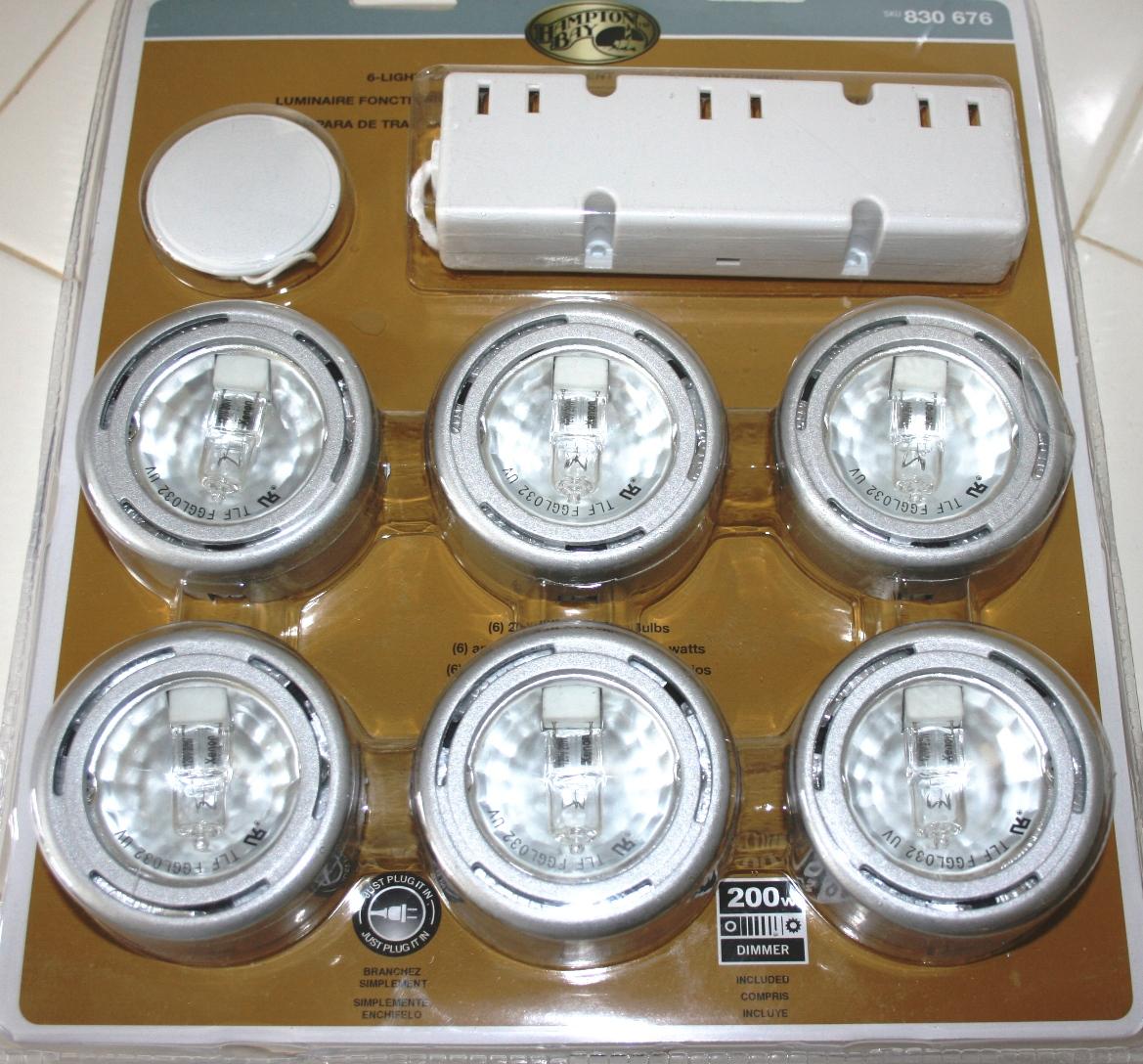 Iluminaci n debajo de los gabinetes de cocina constru - Luces de cocina ...