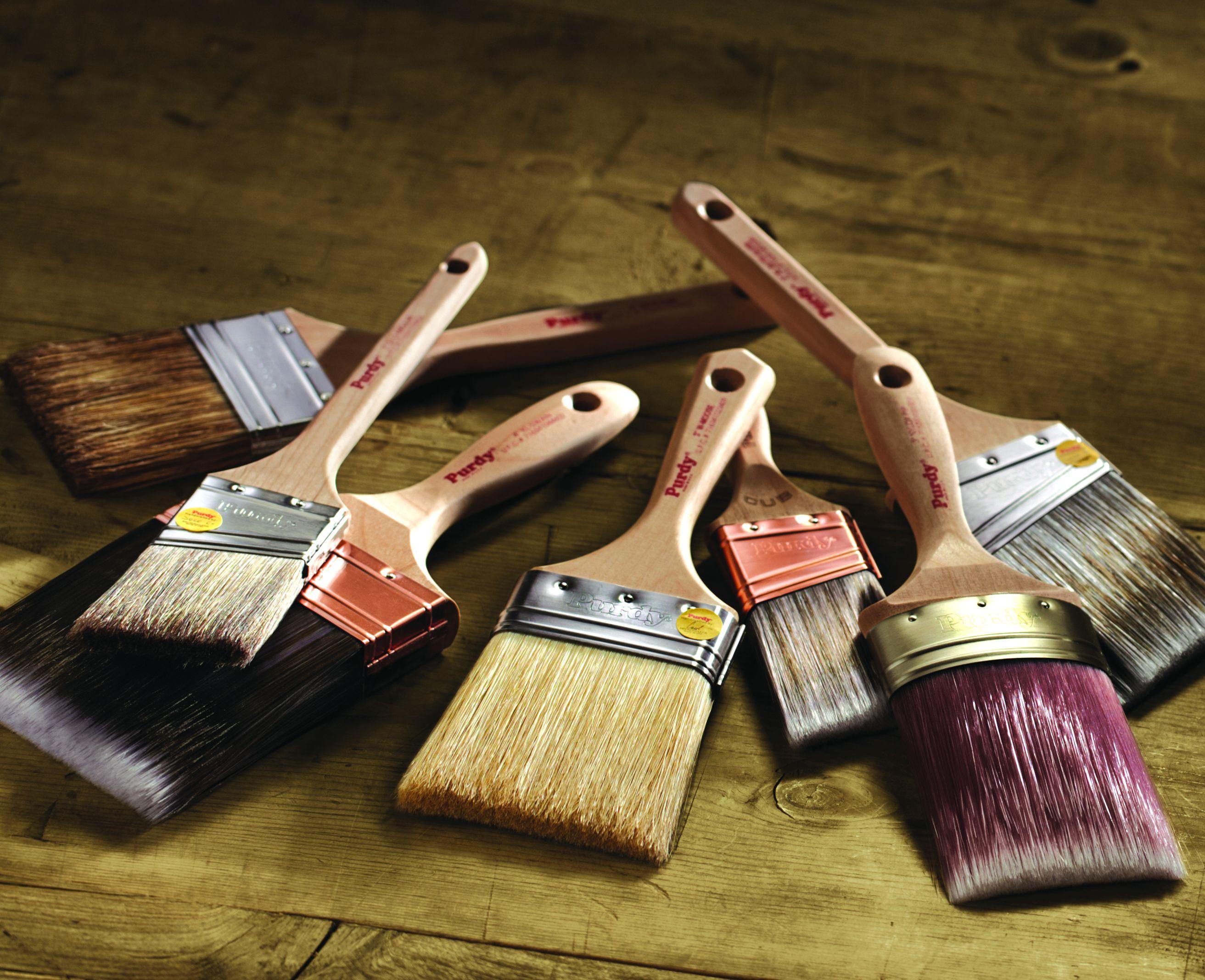 C mo elegir brochas para pintar constru gu a al d a - Como barnizar con brocha ...