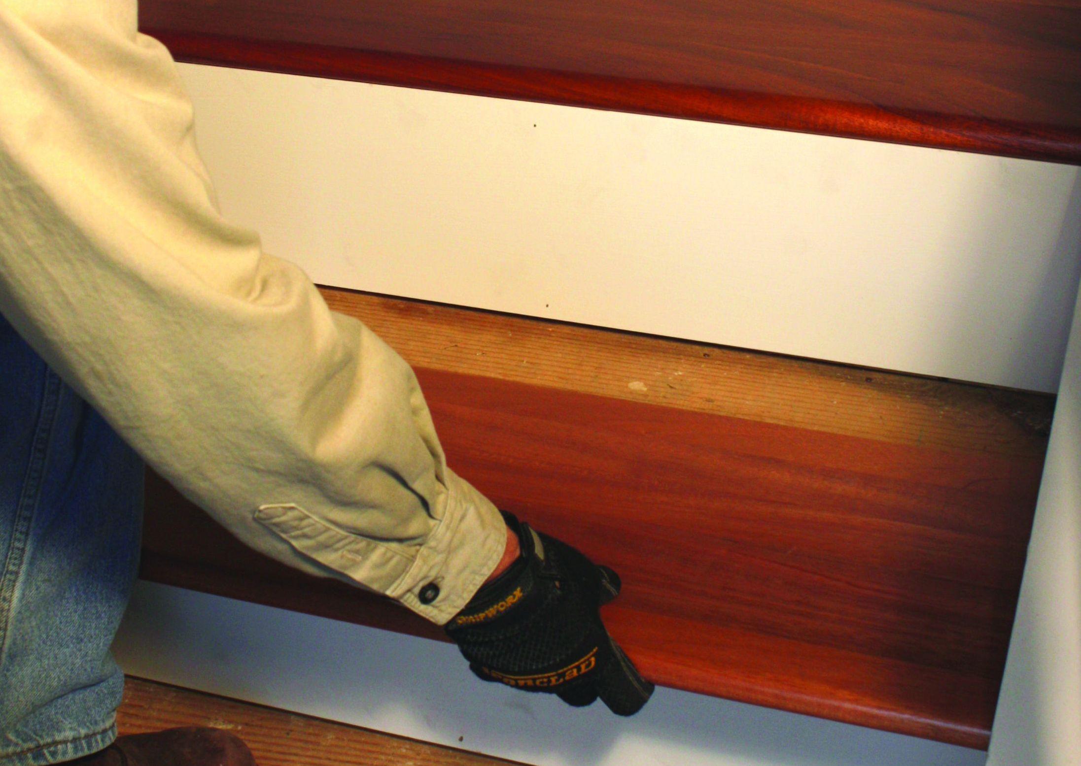 instalar peldaos de maderas