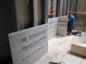Cement board 1