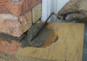 How to repair mortar joints 4