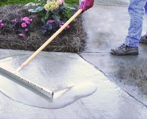 Cómo componer el concreto desconchado