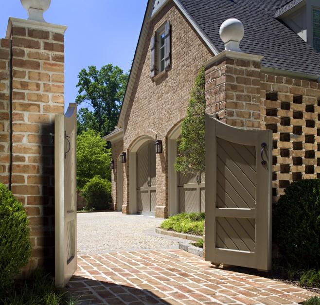 Install brick veneer