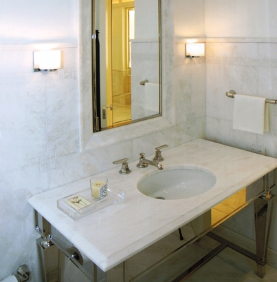 How to lay marble tile