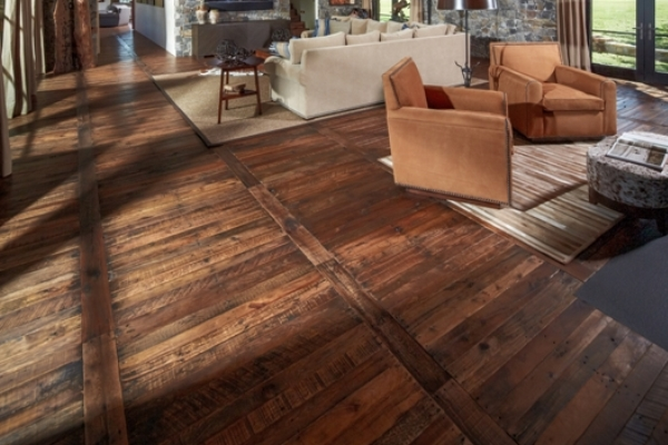 C mo instalar pisos de madera r stica constru gu a al d a for Ceramicas rusticas para pisos