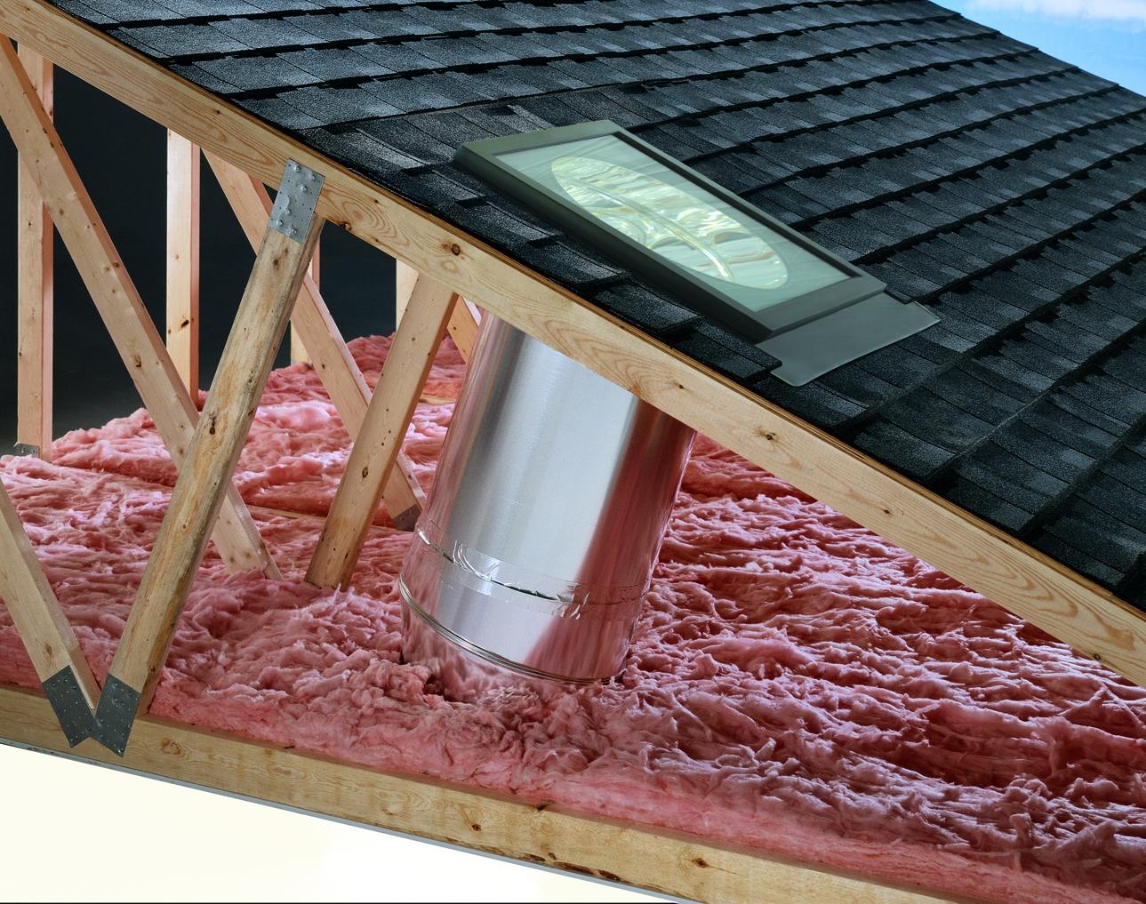 Instalaci n de un tragaluz tubular constru gu a al d a - Tragaluces para tejados ...