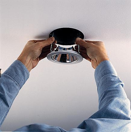 Instalar luces empotradas en la cocina constru gu a al d a - Lamparas de techo empotradas ...