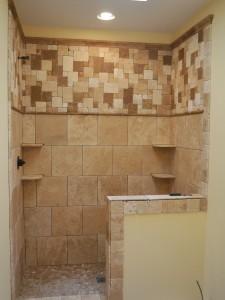 colocar azulejo en la pared de una ducha 9