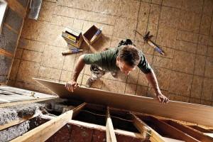 Reparaciones con adhesivos para construcción en drywall grandes