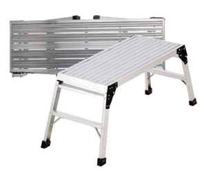 Plataforma de trabajo portátil Pro Deck de Werner
