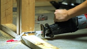 Uses for reciprocating saws 7