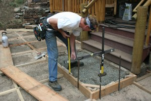 Cómo construir un patio a la medida