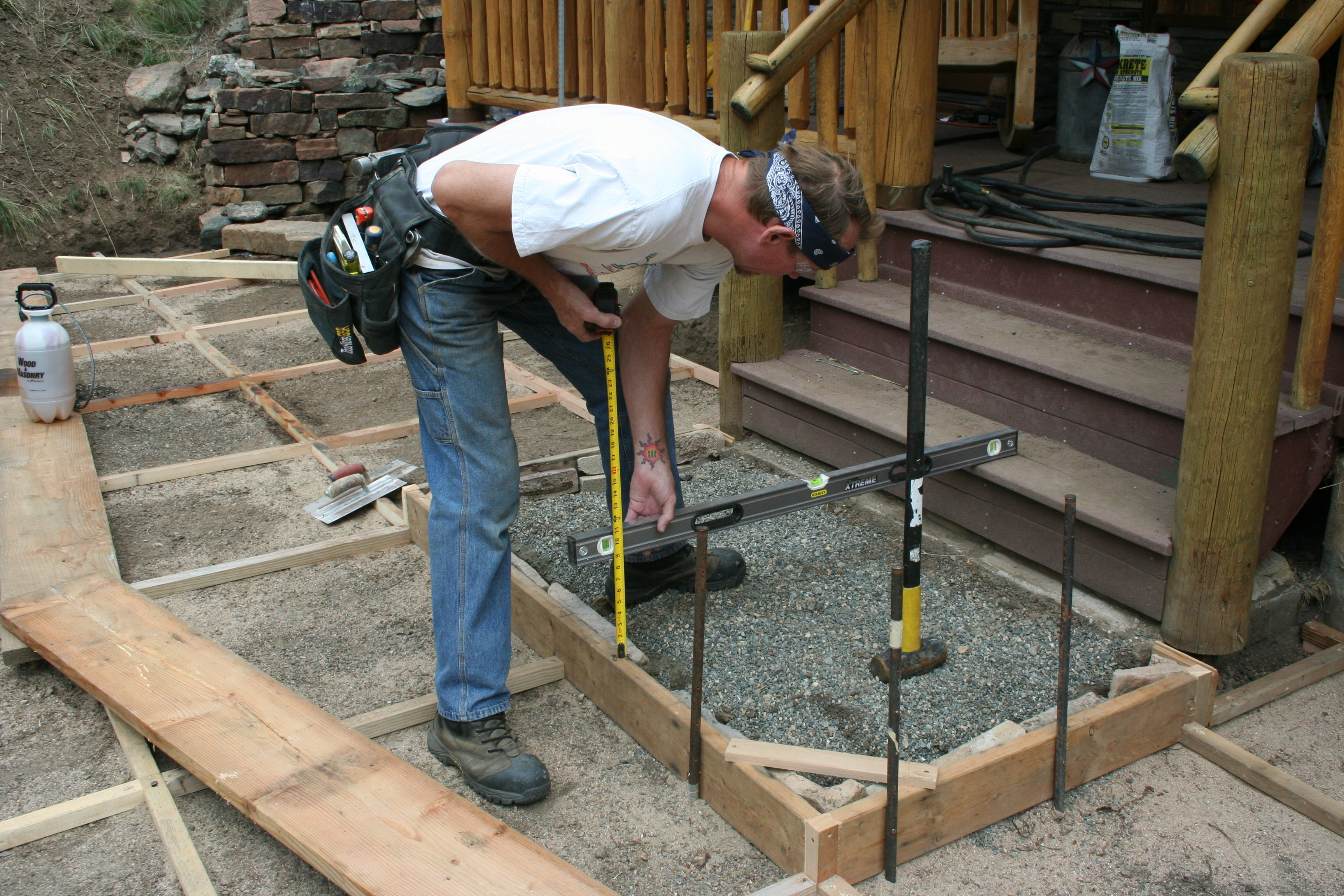 Building a custom patio pro construction guide for Diseno patio
