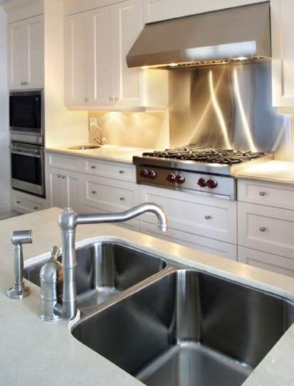 C mo instalar un fregadero de cocina - Tipos de fregaderos ...