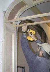 Cómo construir arcos interiores