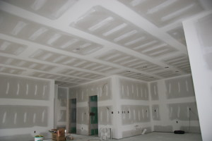 Finishing drywall 600x400