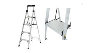 Escalera de tijera en aluminio Gorilla Ladders