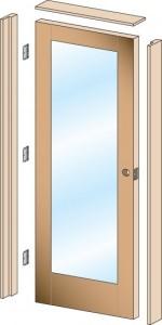instalar una puerta precolgada como un experto