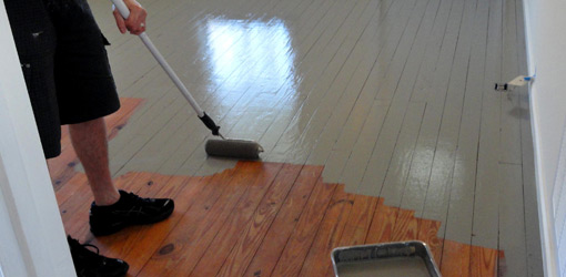 Painting Over Varnish Wall Without Sanding