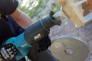 Evaluación de las sierras recíprocas alámbrica