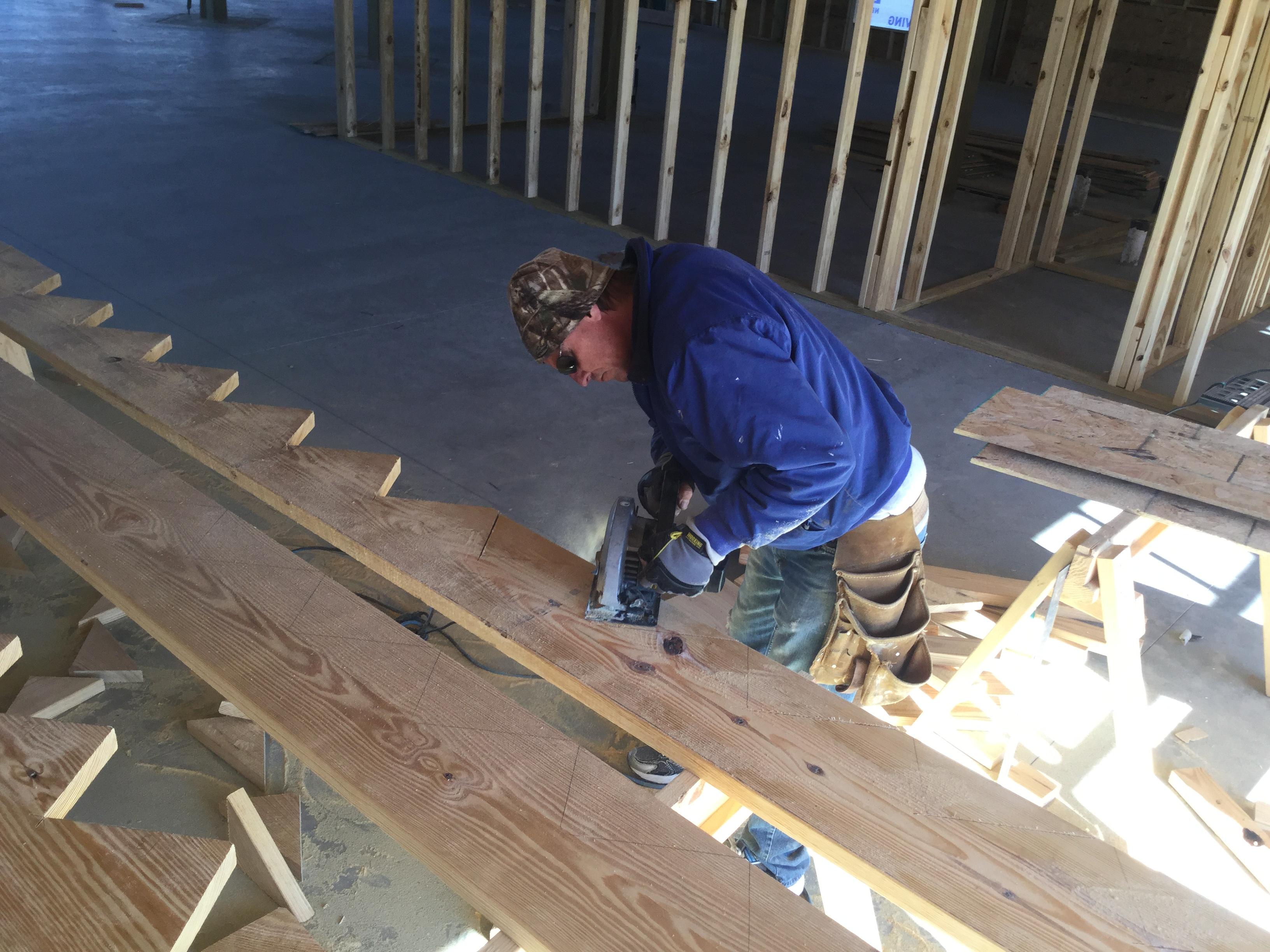 Construir una escalera paso por paso constru gu a al d a for Como hacer un piso de cemento paso a paso