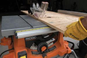 Sierra de mesa portátil RIDGID R4513: mejor potencia