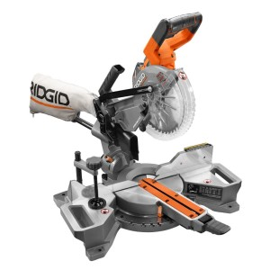 Las mejores herramientas para contratistas: sierra ingleteadora deslizable Ridgid