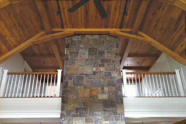 Obtener acceso a un techo abovedado puede ser un reto.
