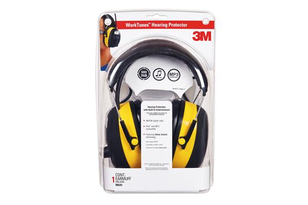 Protector para oídos con radio