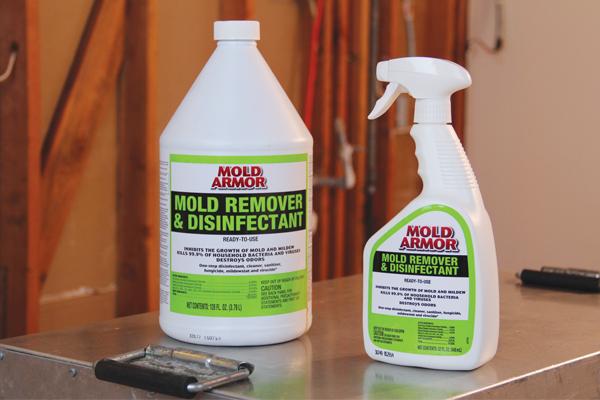 Eliminador de moho y desinfectante
