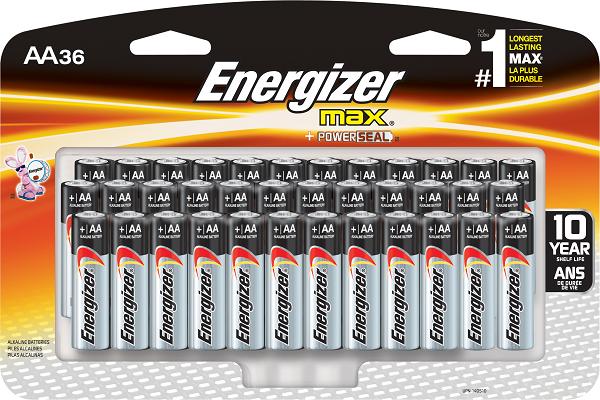 Los productos Energizer tienen poder duradero para sus proyectos importantes