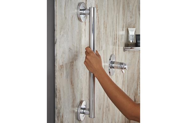 Seguridad con estilo en el baño