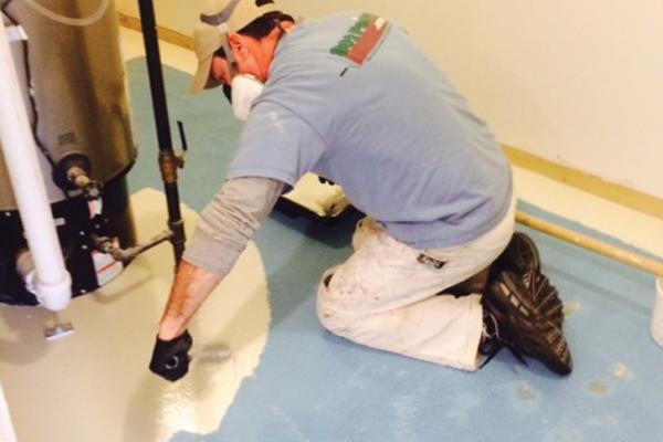 Pintar pisos de concreto