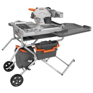 RIDGID 10-inch Variable Speed Commercial Tile Saw