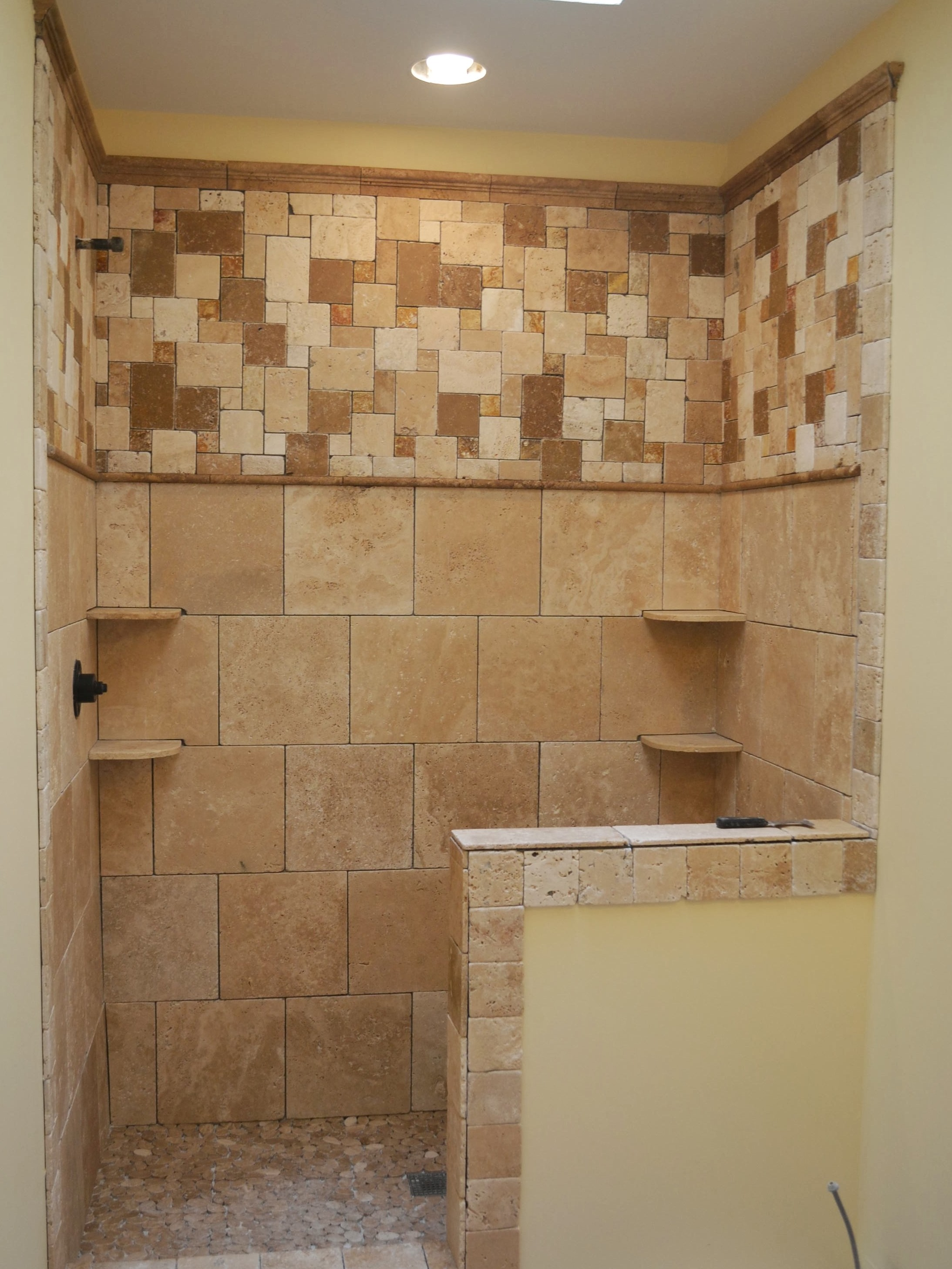 tile a shower wall pic 6