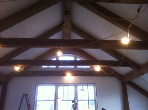 How to paint a vaulted ceiling